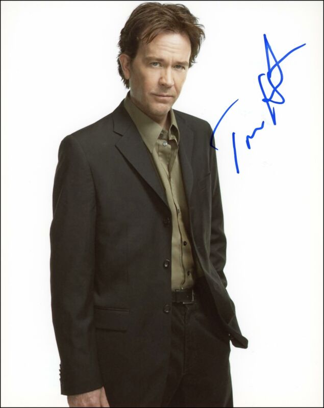"""Timothy Hutton """"Leverage"""" AUTOGRAPH Signed 'Nathan Ford' 8x10 Photo B"""
