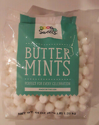Party Sweets Butter Mints Perfect for Every Celebration 2.75 lb bag Gluten Free (Butter Mints)