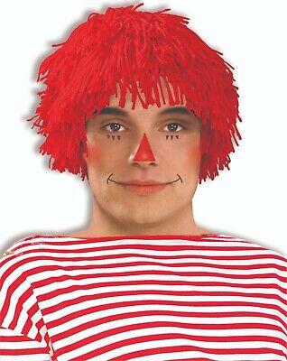Forum Neuheiten Raggedy Andy Puppe Erwachsene Halloween Kostüm-zubehör Perücke (Raggedy Andy Kostüm)