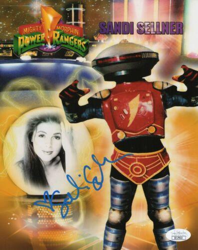 "Sandi Sellner Autograph Signed 8x10 Photo - Power Rangers ""Alpha 5"" (JSA COA)"