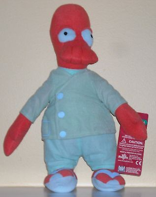 "FUTURAMA 14"" PLUSH TOY DOLL DR. ZIODBERG"