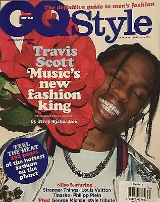 TRAVIS SCOTT COVER  BRITISH GQ STYLE 2017 ASAP ROCKY DIOR AD TINASHE (Asap Rocky Fashion Style)