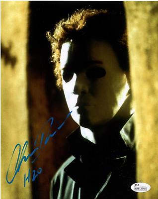 Chris Durand Signed 8x10 Photo Michael Myers Halloween JSA COA Z1 (Chris Durand Halloween)