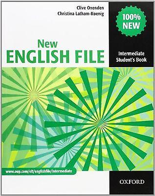 New English File: Intermediate: Student's Book: Six-level general En... NEW BOOK