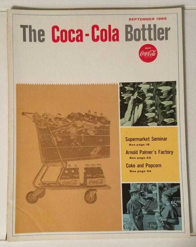 THE COCA-COLA BOTTLER - VINTAGE MAGAZINE - SEPT. 1965