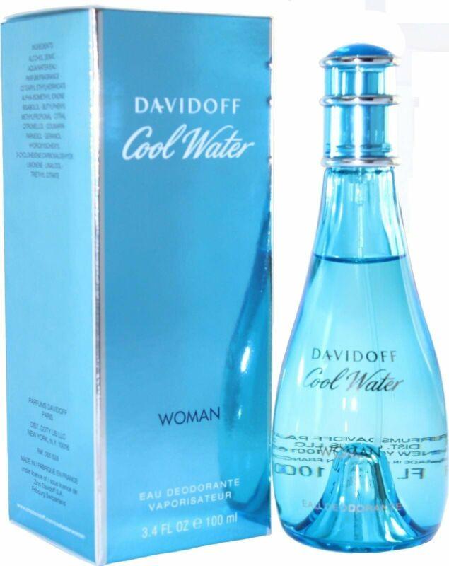 COOL WATER by Davidoff Perfume Deodorant Spray 3.4 oz edt New in Box
