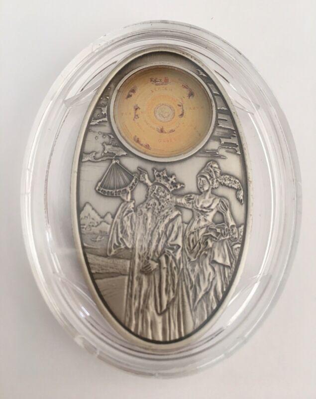 Fiji Apocalypse III - Almagest 2012 $10 Silver Coin COA