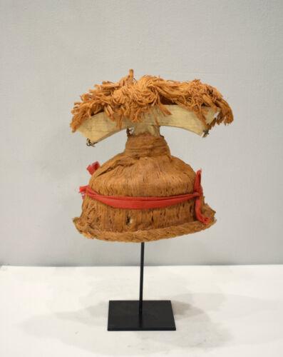 Papua New Guinea New Ireland Ceremonial Dance Hat
