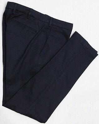 SALLE PRIVÉE Gehry Blue Slim Fit Cotton Pants EU 50 - US 34