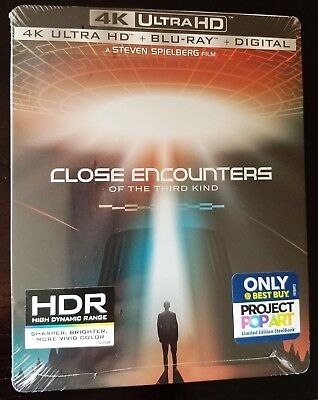 CLOSE ENCOUNTERS OF THE THIRD KIND 4K UHD+Blu-ray+Digital Copy (Close Encounters Of The Third Kind 4k Uhd)