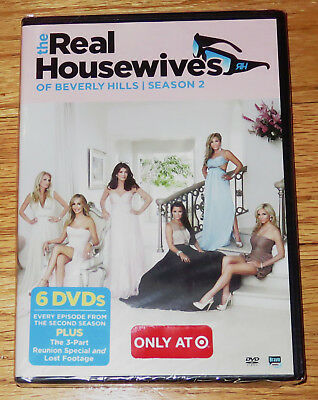 The Real Housewives Of Beverly Hills  Season 2 Two  Dvd  2012  6 Disc Set  New