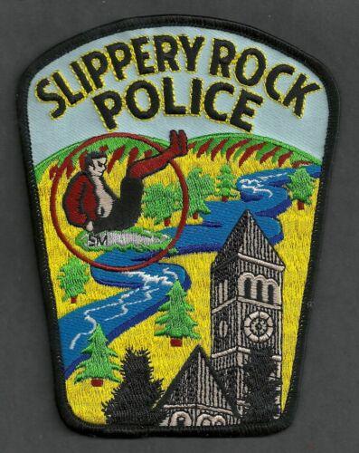 SLIPPERY ROCK PENNSYLVANIA POLICE SHOULDER PATCH