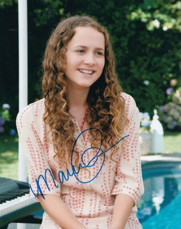 MAUDE APATOW signed (THIS IS 40) Movie ACTRESS 8X10 photo W/COA *SADIE* #6