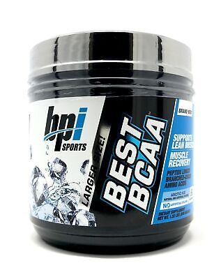 BPI Sports Best BCAA Branched Chain Amino Acids 60 Servings Arctic