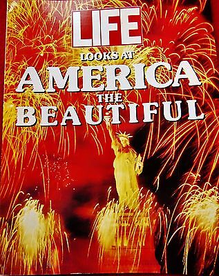 """""""LIFE LOOKS AT AMERICA THE BEAUTIFUL"""" BOOK~ 1990 with 96 BEAUTIFUL PICTURES"""