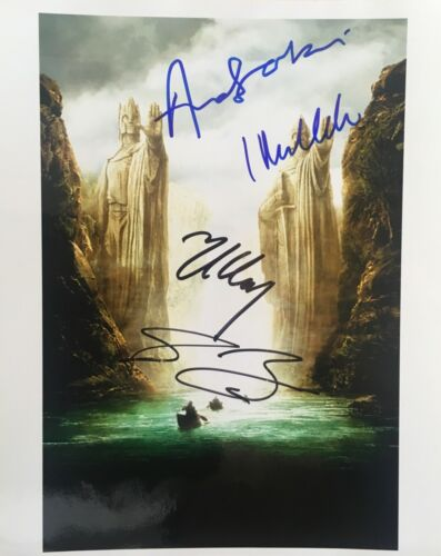 Lord of the Rings multi signed 10x8 Photo B RACC Trusted Seller AFTAL UACC