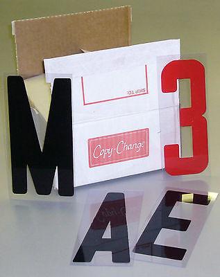 8 Inch Portable Sign Letters Flex Letter Changeable Copy Message Letters