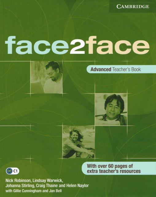 Cambridge FACE2FACE Advanced Teacher's Book C1 @NEW BOOK@