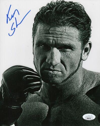 Ken Shamrock Autograph Signed 8x10 Photo - WWF WWE UFC MMA (JSA COA)