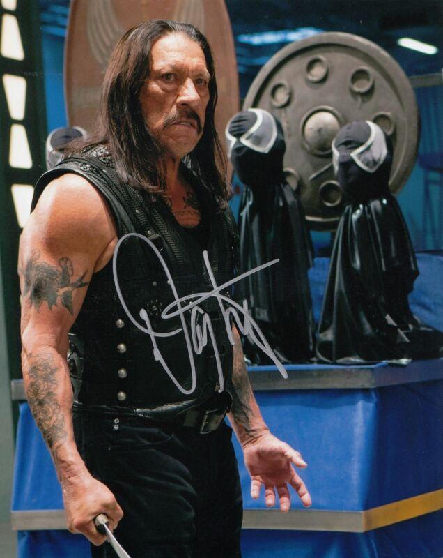 DANNY TREJO signed (MACHETE KILLS) movie 8X10 photo W/COA