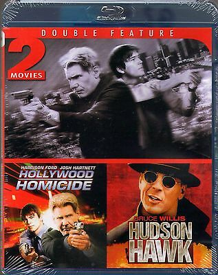 Hollywood Homicide Hudson Hawk  Blu Ray Disc  2013   Bruce Willis  Harrison Ford