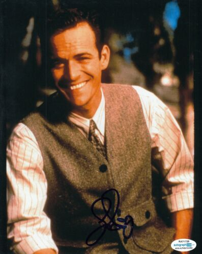 LUKE PERRY signed (BEVERLY HILLS 90210) autograph 8X10 photo *Riverdale* ACOA #2