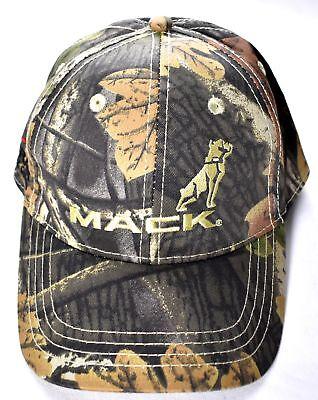 MACK TRUCK HAT Nextran Truck Centers Camo Hat/Cap Adjustable 100% Cotton >NEW< - Mack Truck Hats