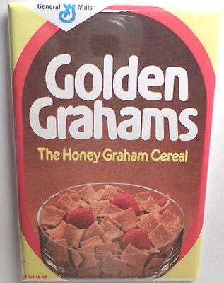 Golden Grahams Vintage Cereal Box 2