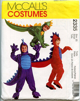 Dragon Costume for Boys or Girls - McCalls Sewing Pattern - Size 2](Dragon Costumes For Toddlers)