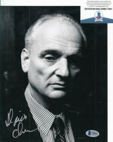 DAVID CHASE signed (THE SOPRANOS) *Producer* 8X10 photo BAS BECKETT T29511