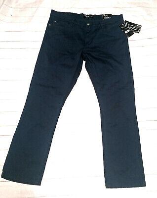 IDENTIC MAN top Stretch Hose marineblau straight normal W38 L34