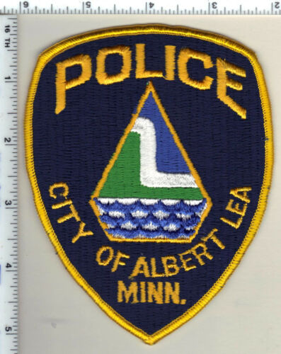 City of Albert Lea Police (Minnesota)  Shoulder Patch  - new from 1991