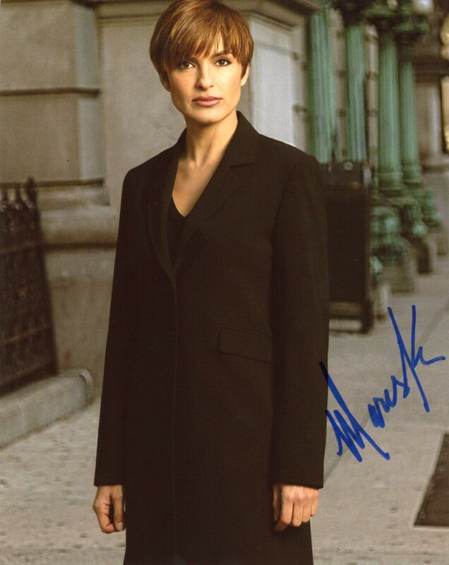"Mariska Hargitay ""Law & Order: SVU"" AUTOGRAPH Signed 8x10 Photo E ACOA"