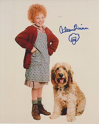 Aileen Quinn Annie 1  Original Autographed 8X10 Photo