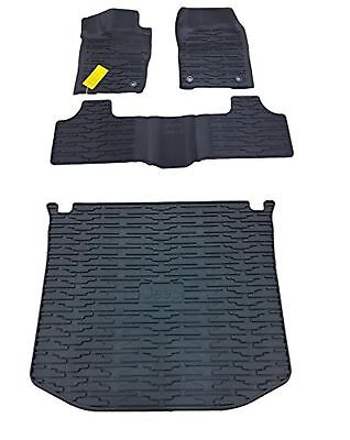 Cargo Liner Floor Mats (Jeep Grand Cherokee Rubber Slush Floor Mats & Cargo Tray Liner Set)