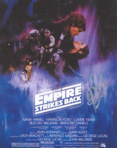 CLIVE REVILL SIGNED 'STAR WARS V: EMPIRE STRIKES BACK' EMPEROR 8X10 PHOTO C COA