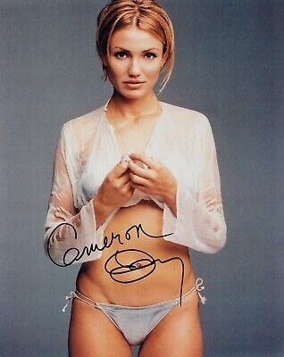 Cameron Diaz SIGNED 10x8 & COA photo AUTOGRAPH photograph Something About Mary