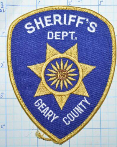KANSAS, GEARY COUNTY SHERIFF