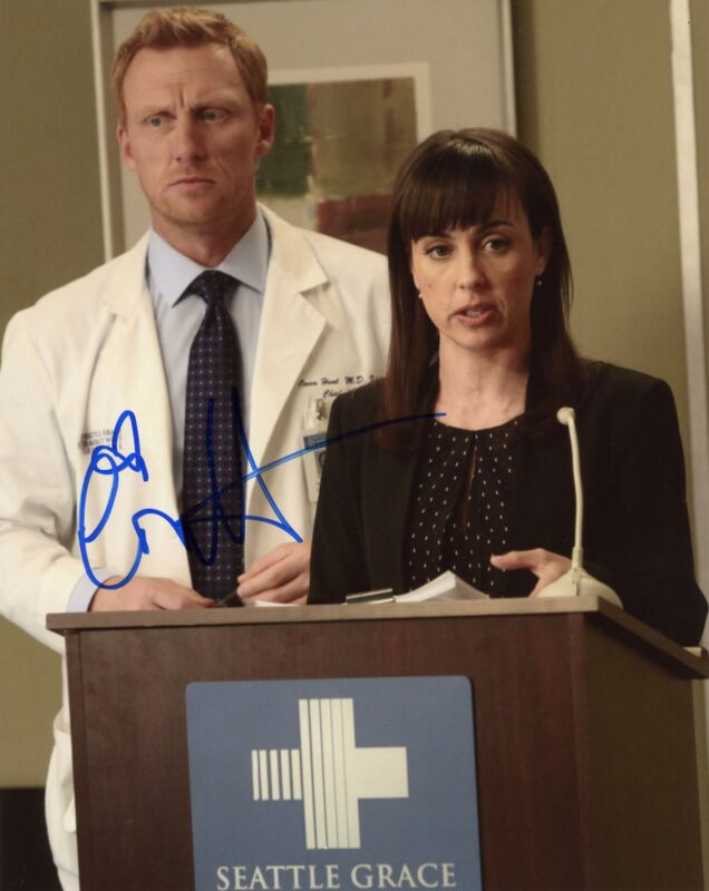 "Constance Zimmer ""Grey's Anatomy"" AUTOGRAPH Signed 8x10 Photo ACOA"