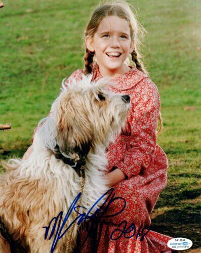 Melissa Gilbert Signed Autograph 8x10 Photo Little House On The Prairie ACOA COA