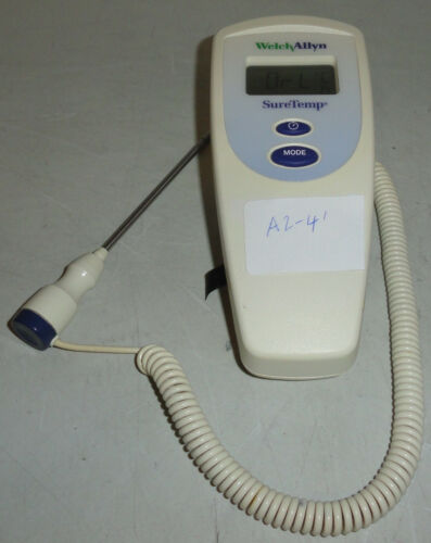 Welch Allyn 678 Sure Temp SureTemp Thermometer w/ oral probe