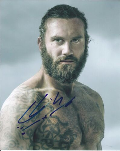 Clive Standen Signed Autographed 8x10 Photo Vikings Rollo Shirtless E