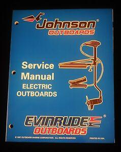 1998 johnson evinrude electric outboard trolling motor. Black Bedroom Furniture Sets. Home Design Ideas
