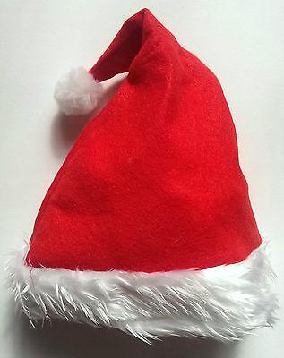 CHRISTMAS XMAS SANTA PARTY HATS WHOLESALE : MULTIPLE QUANTITIES : FANCY DRESS - Christmas Hats Wholesale