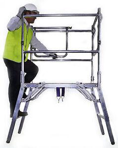Delta Deck Low Level Work Platform Podium Step Ladder