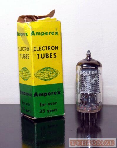 RARE Amperex Bugle Boy NOS/NIB EF86/6267 Mesh Shield plates tube O-getter