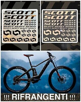 18 stickers scott-frame adhesive stickers velo bike mtb montain 180