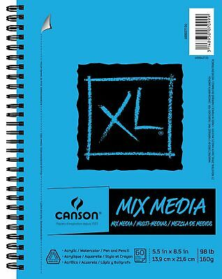 series mix media pad side wire bound