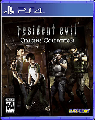 Resident Evil Origins Collection  Sony Playstation 4