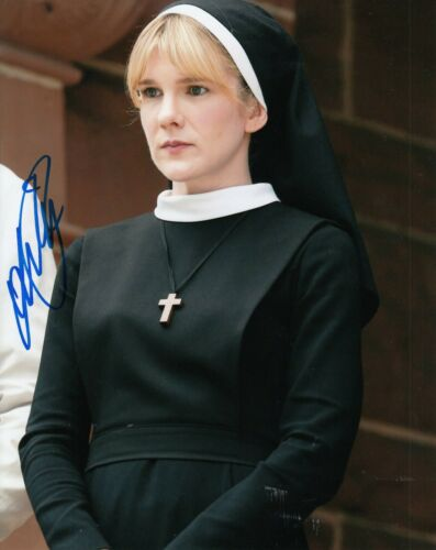 LILY RABE signed (AMERICAN HORROR STORY) 8X10 photo *Sister McKee* W/COA #1